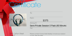 Semi-Private Session 5 Pack